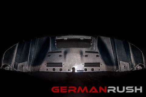 CF V10 Style Face Lift Rear Diffuser: Audi R8