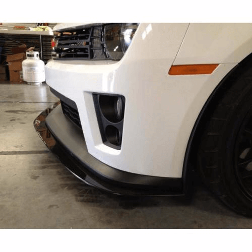 APR CF Front Splitter: Camaro ZL1, 2012+ - Black Ops Auto Works