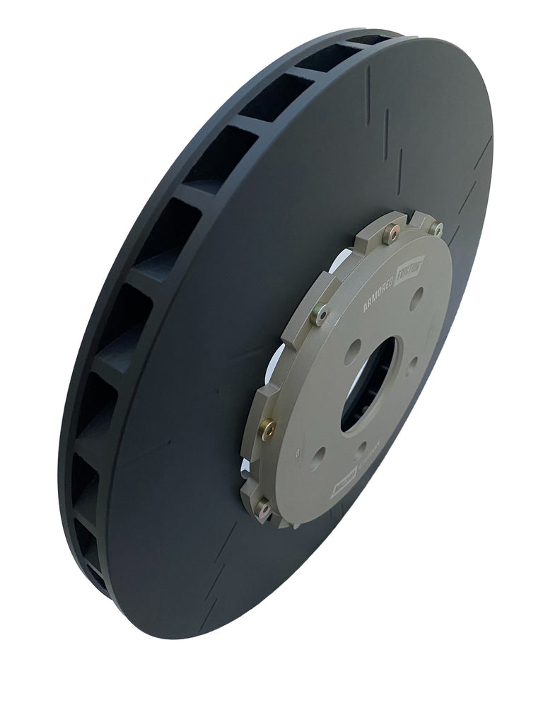 Armored Friction Brake Rotors Jeep Grand Cherokee Trackhawk Front