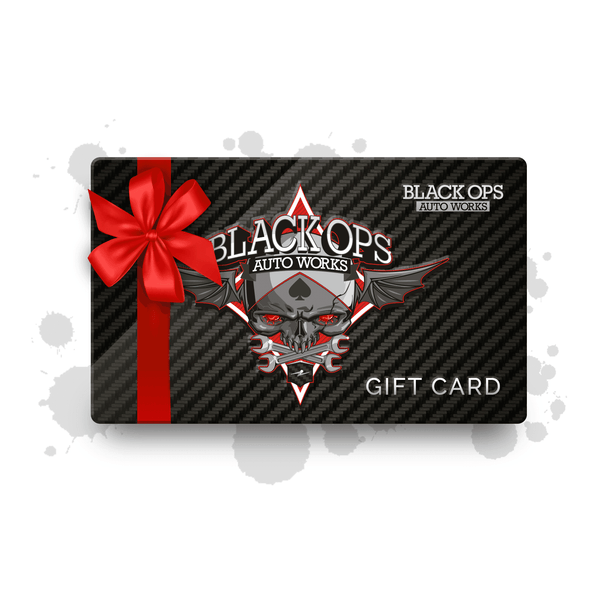 Gift Cards - Black Ops Auto Works
