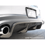 APR Rear Diffuser: Mustang 2010-12 - Black Ops Auto Works