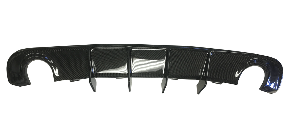 2016+ Dodge Charger Carbon Fiber Rear Diffuser