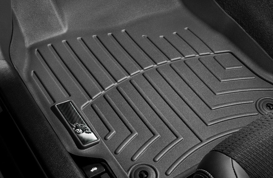 Black Ops Floor Mat Inlay: Carbon/ Silver - Black Ops Auto Works