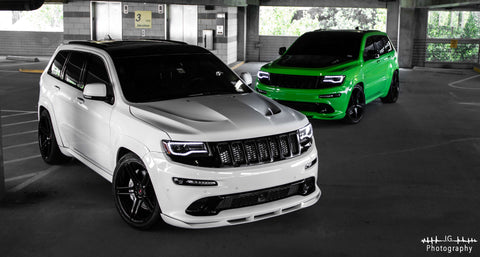 'CFR Edition' Front Splitter Jeep Wk2 2011-16