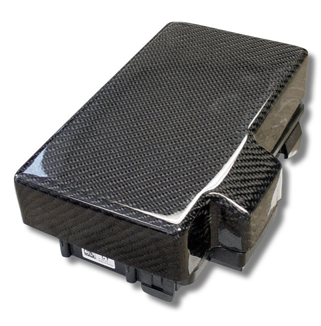 CF Fuse Box Cover: C6 05-12 - Black Ops Auto Works