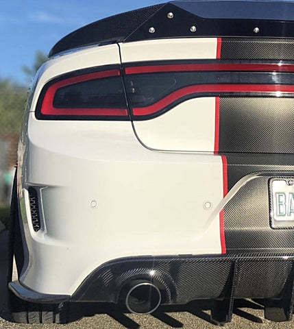 Rear Diffuser Dodge Charger 2015-18
