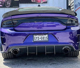 Dodge Charger Carbon Fiber Rear Diffuser