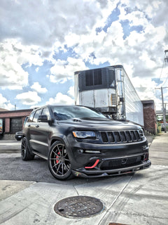 'CFR Edition' Front Splitter Jeep Wk2 2012-16