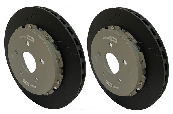Armored Friction Brake Rotors Jeep Grand Cherokee SRT/TRACKHAWK Rear