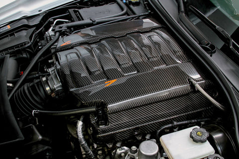 5 Pc. Carbon Fiber Engine Cover Set