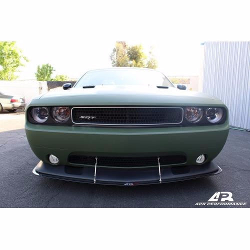 APR CF Splitter: Challenger SRT8 2011-14 - Black Ops Auto Works