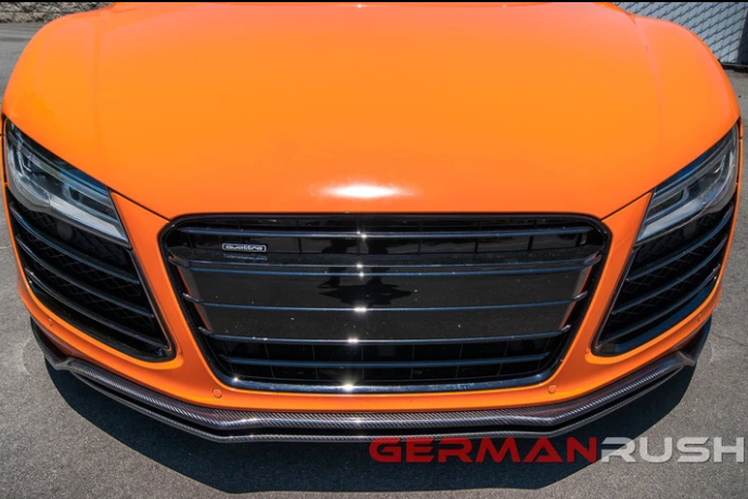 FRONT SPLITTER GERMAN RUSH DUAL FOR AUDI R8 2007-2015