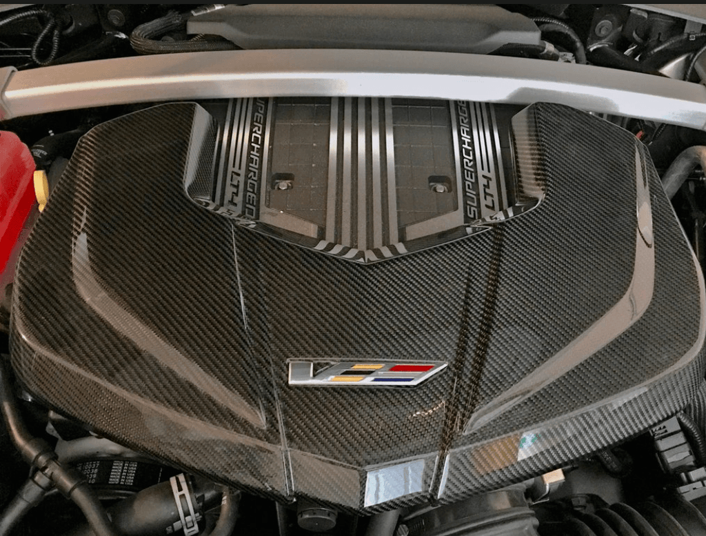 CTS-V Carbon Fiber Engine Cover 2016-2019