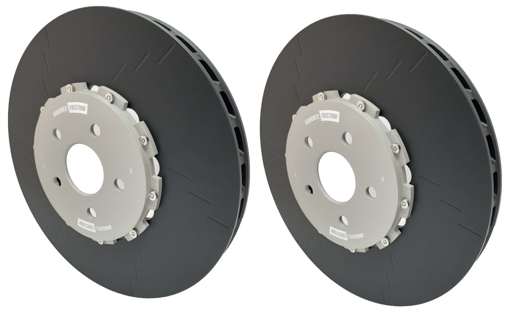 Armored Friction Brake Rotors Jeep Grand Cherokee SRT WK1 Front