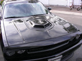 "CF ""Shaker Style"" Hood: Challenger 2008+ - Black Ops Auto Works"