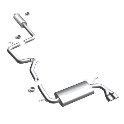MagnaFlow Cat-Back (Single Exit): FoST 13-14