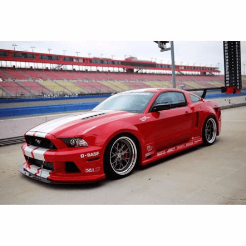 APR Widebody Aerodynamic Kit: Mustang GT 13-14 - Black Ops Auto Works