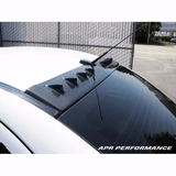 APR Vortex Generator (MR): Evo X 08+ - Black Ops Auto Works