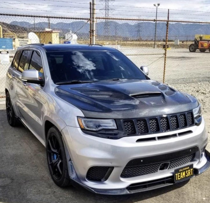 Jeep Grand cherokee Hood Carbon fiber