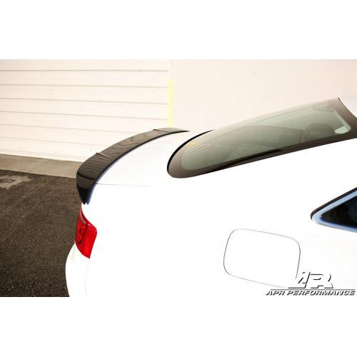 APR CF Deck Spoiler: Model S 12+ - Black Ops Auto Works