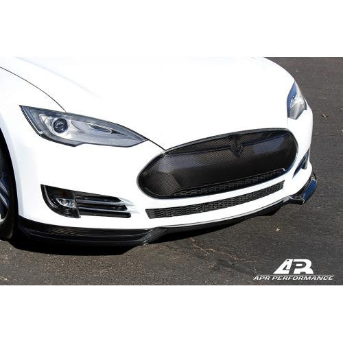 APR CF Front Grill: Model S 12+ - Black Ops Auto Works