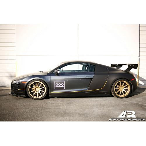 APR CF GTC-500 Wing: R8 06+ - Black Ops Auto Works