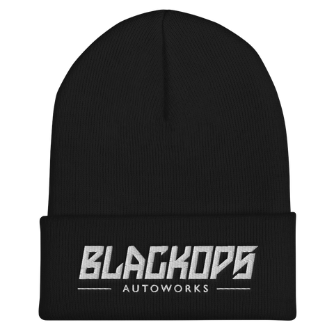 BLACK OPS PUFF EMBROIDERED BEANIE