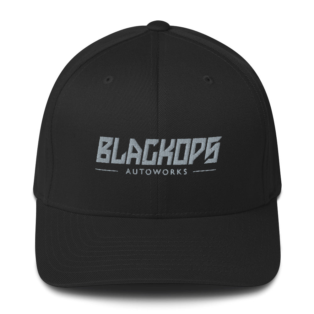 Fitted Black Ops Twill Cap