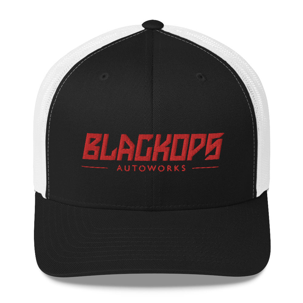 Black Ops Snap Back Trucker Cap