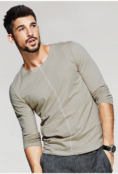 Slim Fit T-Shirt For Men - Manvsture