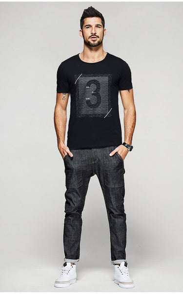 Number 3 T-Shirt - Manvsture