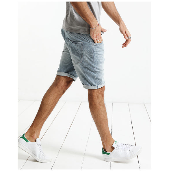 Casual Slim Fit Shorts For Men - Manvsture