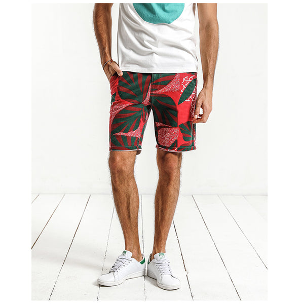 Casual Skinny Fit Shorts For Men - Manvsture
