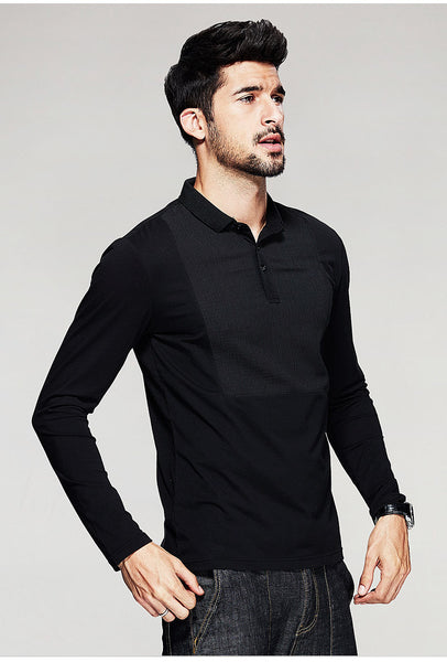 Patchwork Polo Shirt - Manvsture