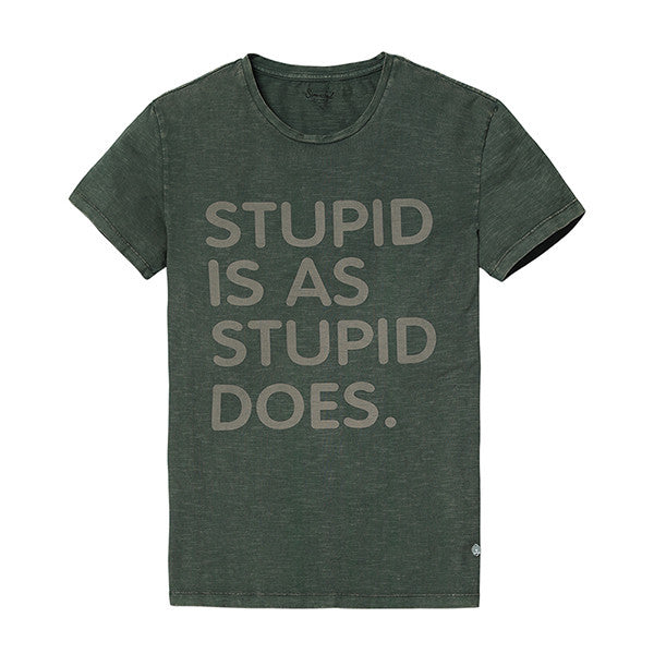Stupid Is As Stupid Does T-Shirt - Manvsture