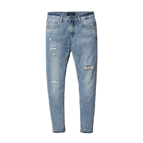 Casual Skinny Fit Jeans For Men - Manvsture