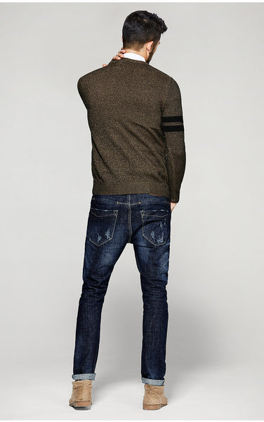 Casual Slim Fit Knitwear For Men - Manvsture