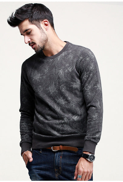 Casual Slim Fit Sweatshirt For Men - Manvsture