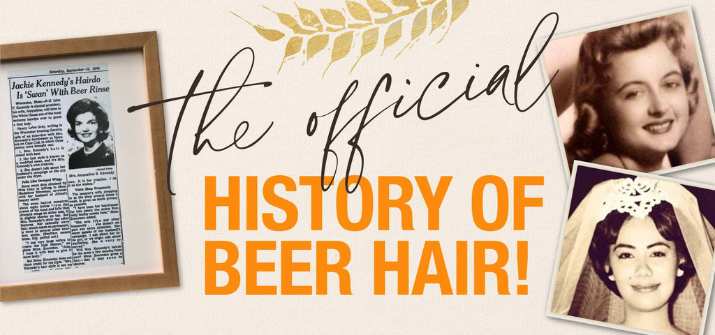 the official history of beer hair pictures of article about Jackie Kennedy and our moms