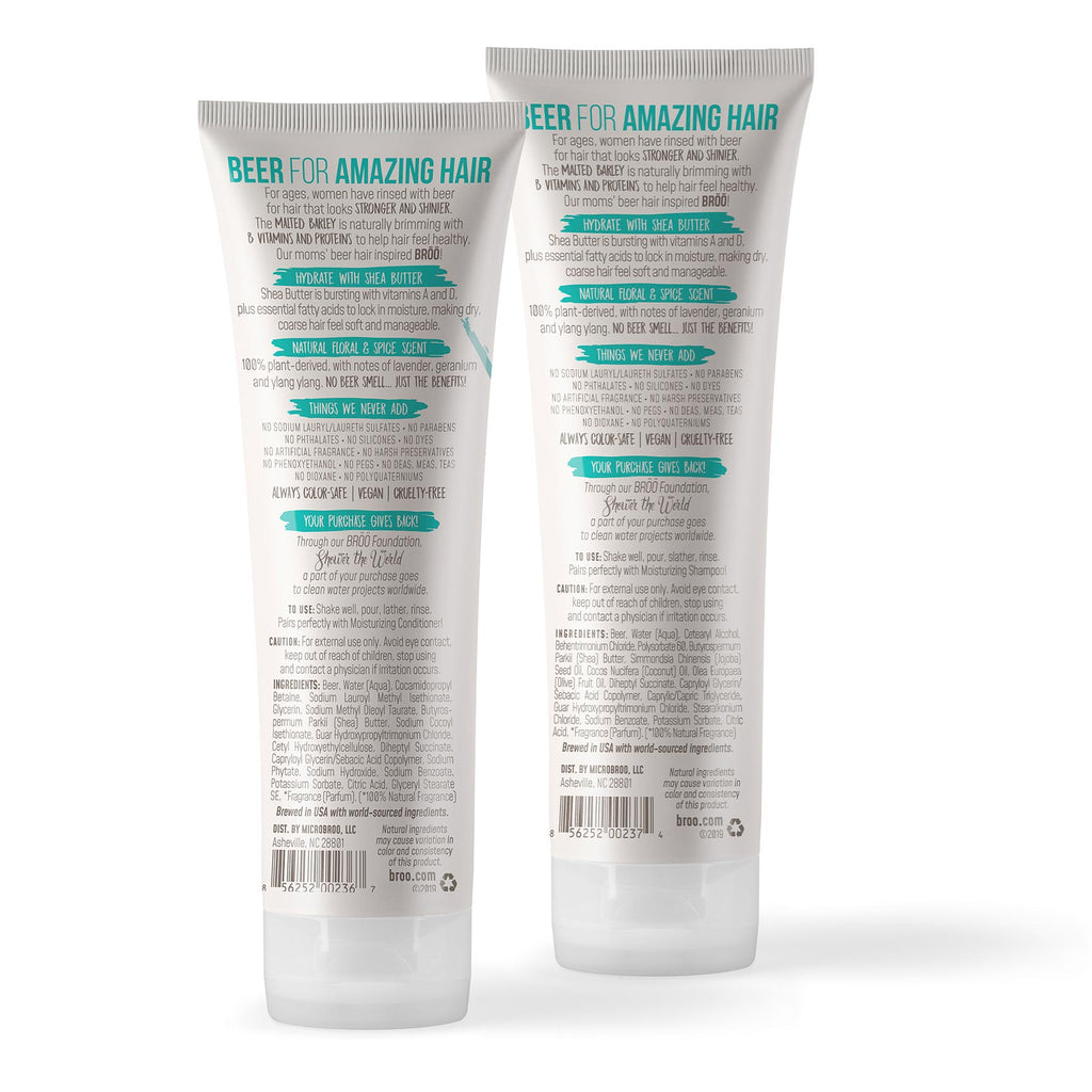 Moisturizing Shampoo + Conditioner 2+2 MEGA-BUNDLE