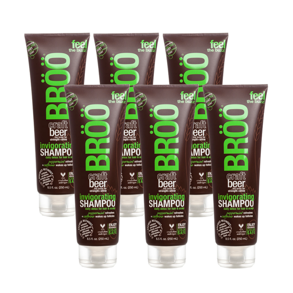Invigorating Shampoo 6 pack MEGA-BUNDLE (FINAL SALE)