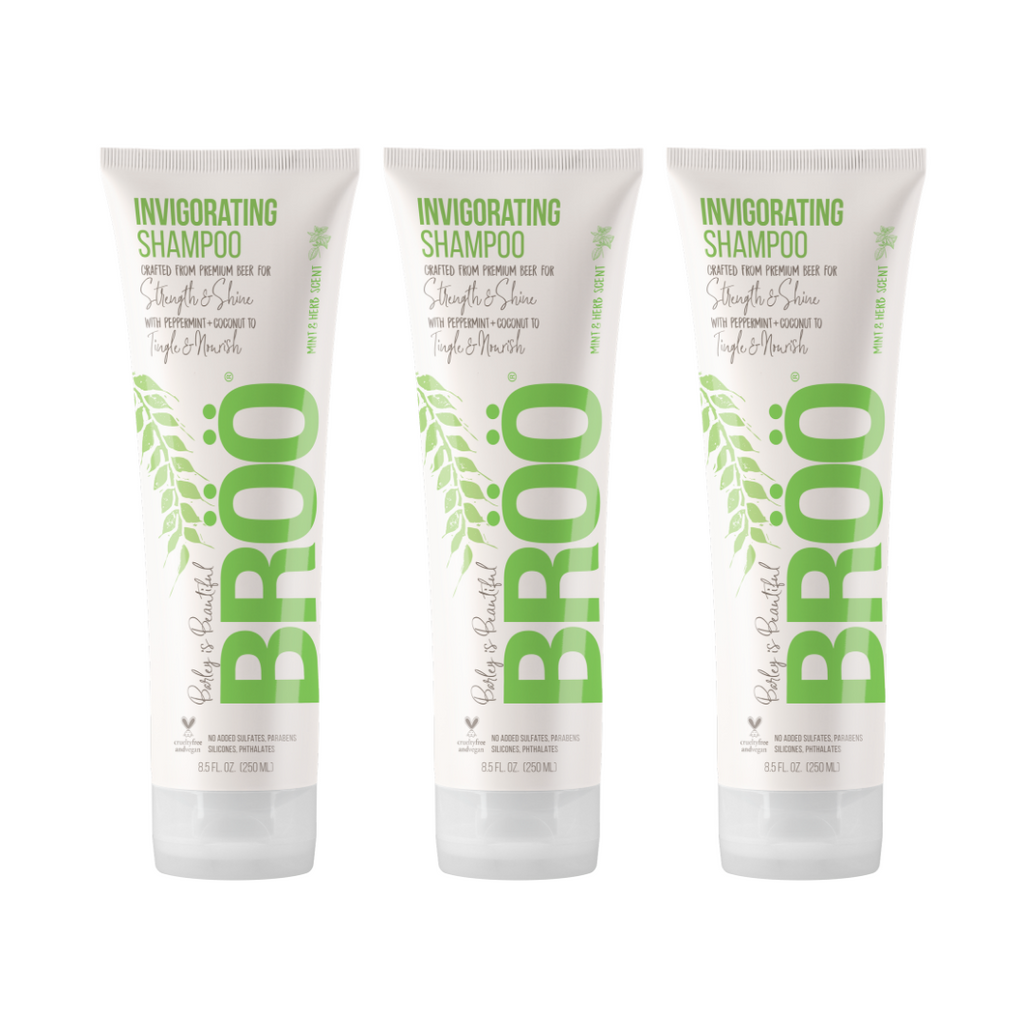 Invigorating Shampoo 3-Pack MEGA-BUNDLE