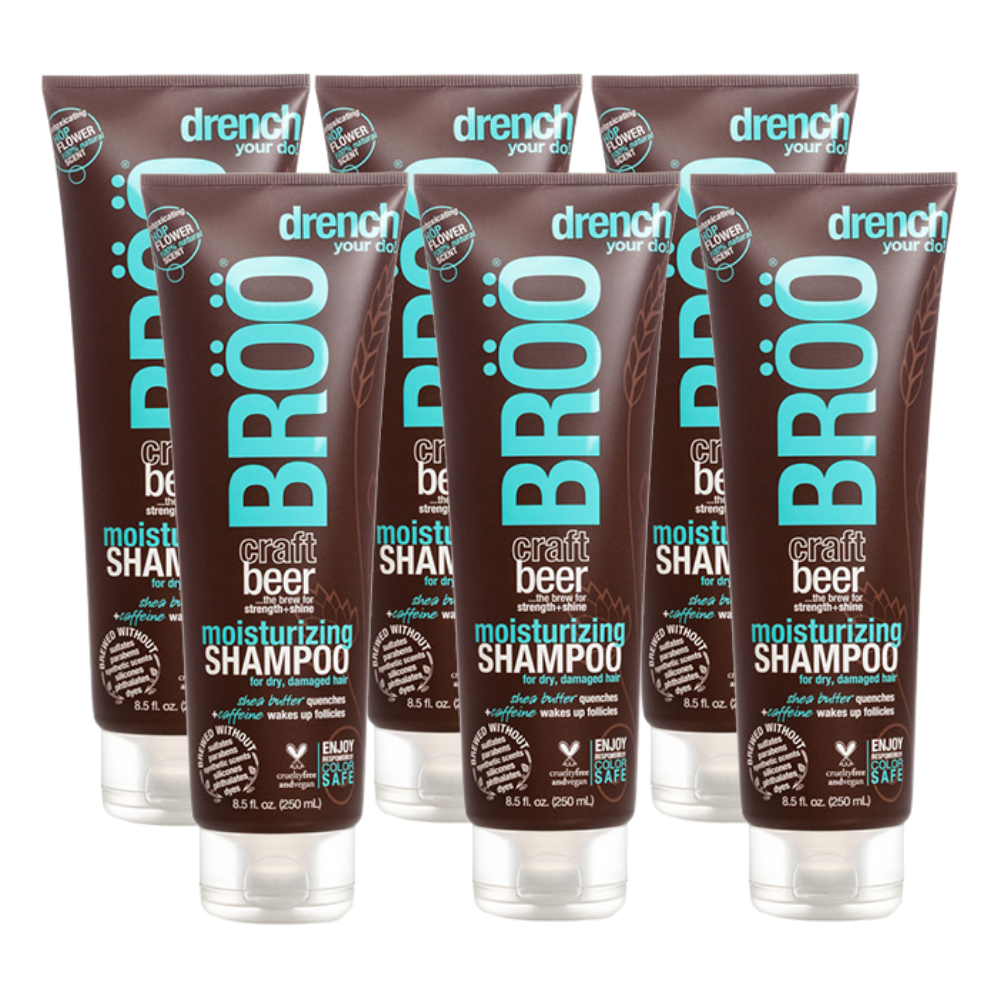 Moisturizing Shampoo 6 pack MEGA-BUNDLE (FINAL SALE)