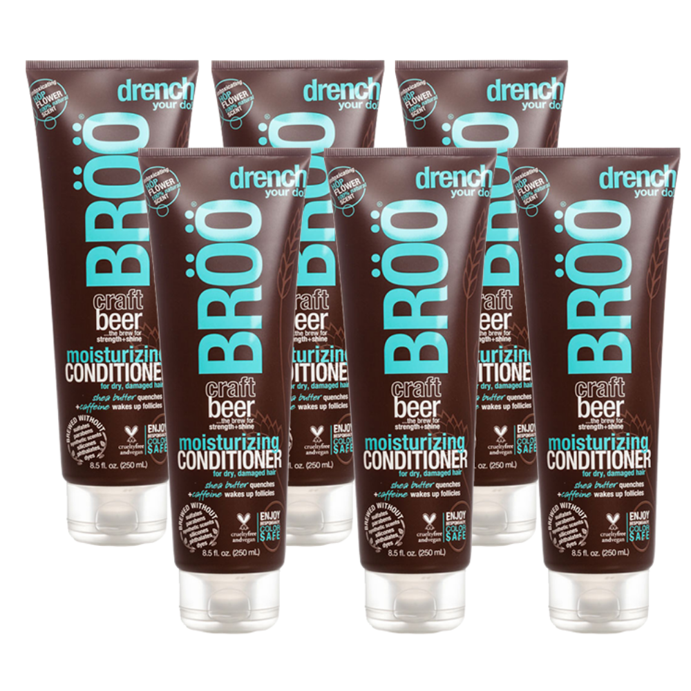 Moisturizing Conditioner 6 pack MEGA-BUNDLE (FINAL SALE)