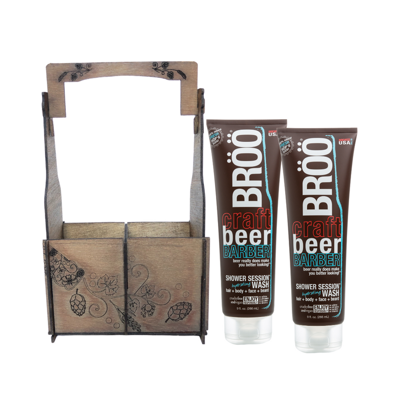 B.Y.O.B. SHOWER SESSION GIFT CADDY DUO