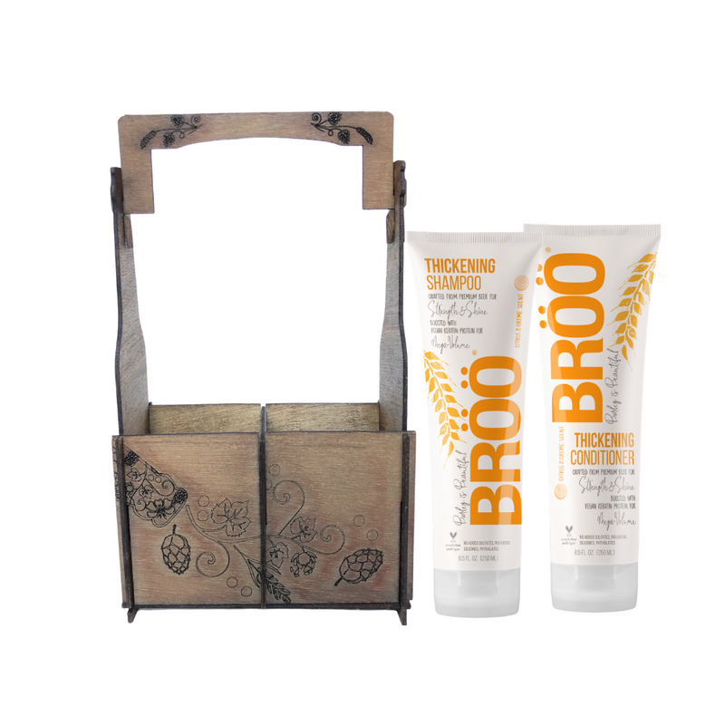B.Y.O.B. THICKENING HAIR GIFT CADDY DUO