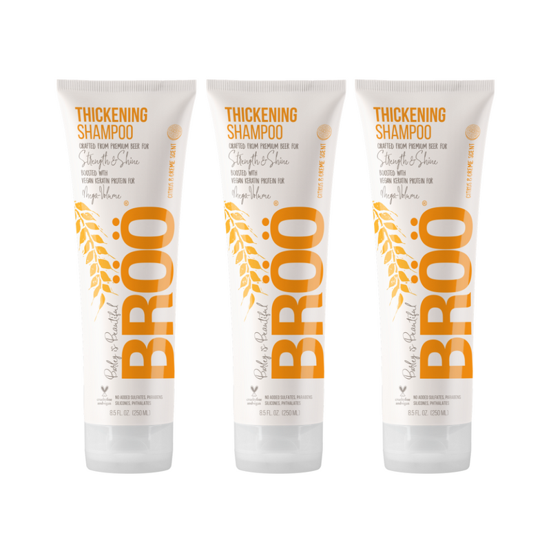 Thickening Shampoo 3-Pack MEGA-BUNDLE