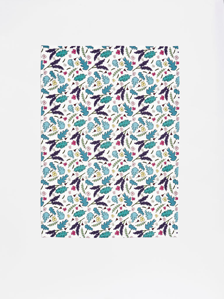 Floral Tea Towel