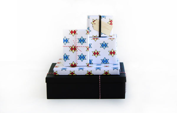 Star Roof Tile - The Fan RVA - Wrapping Paper Sheets
