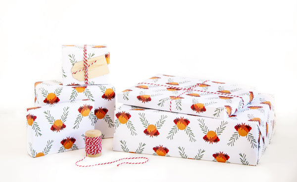 Pomander Wrapping Paper Sheets